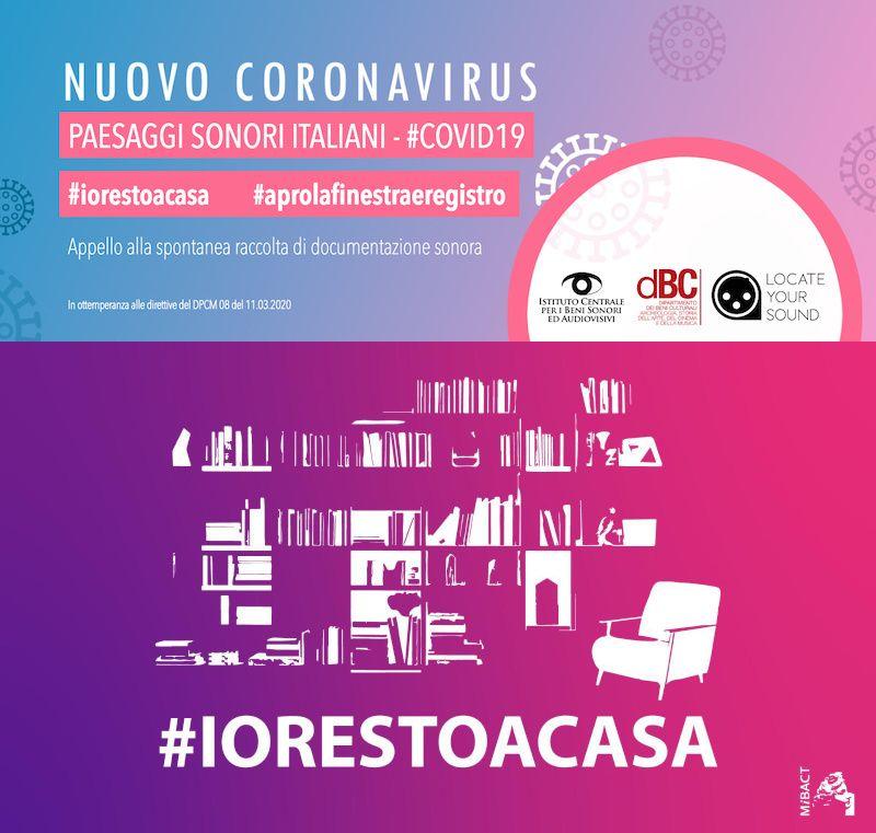 Paesaggi Sonori Italiani - #COVID19