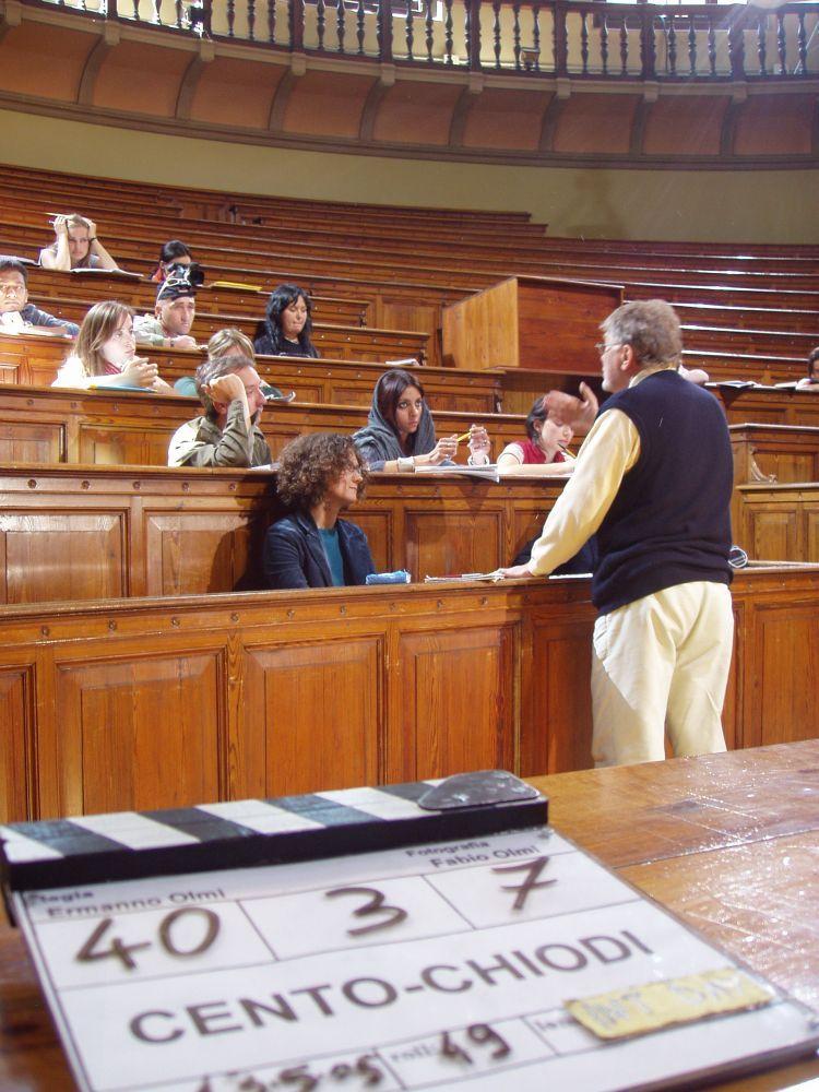 Interno aula Università di Bologna
