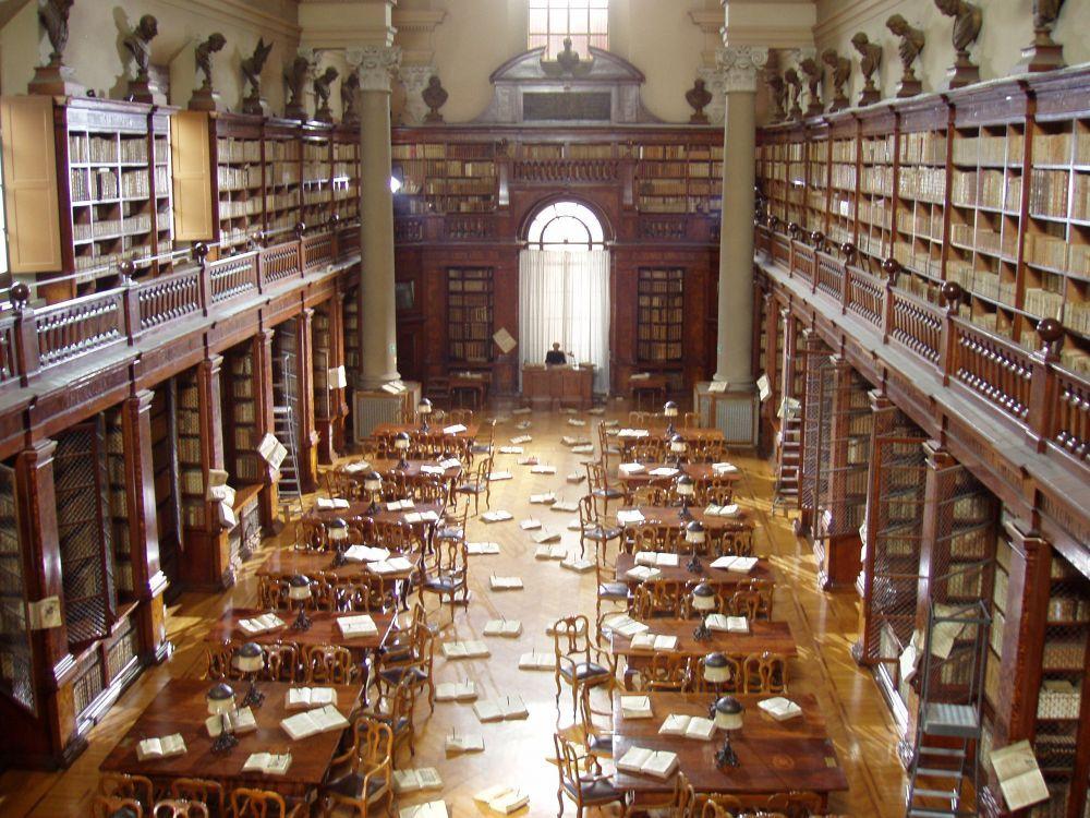 Aula magna  - Biblioteca Universitaria di Bologna