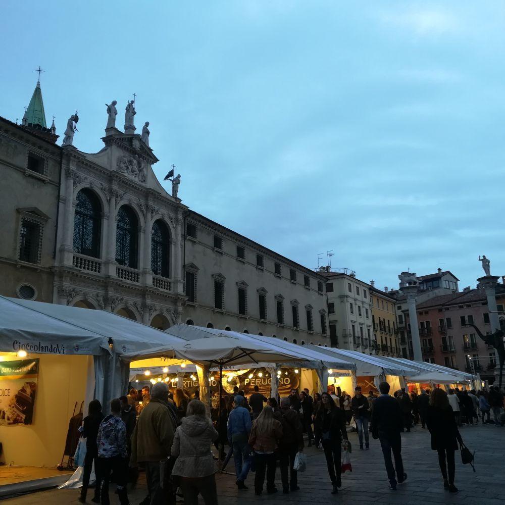 Vicenza, Piazza delle Erbe , 18 ottobre 2019