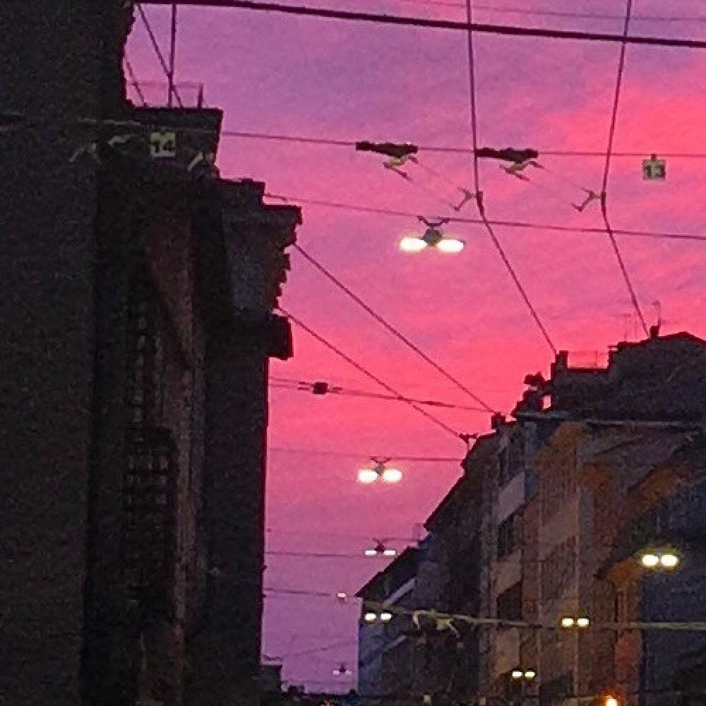 bologna al tramonto