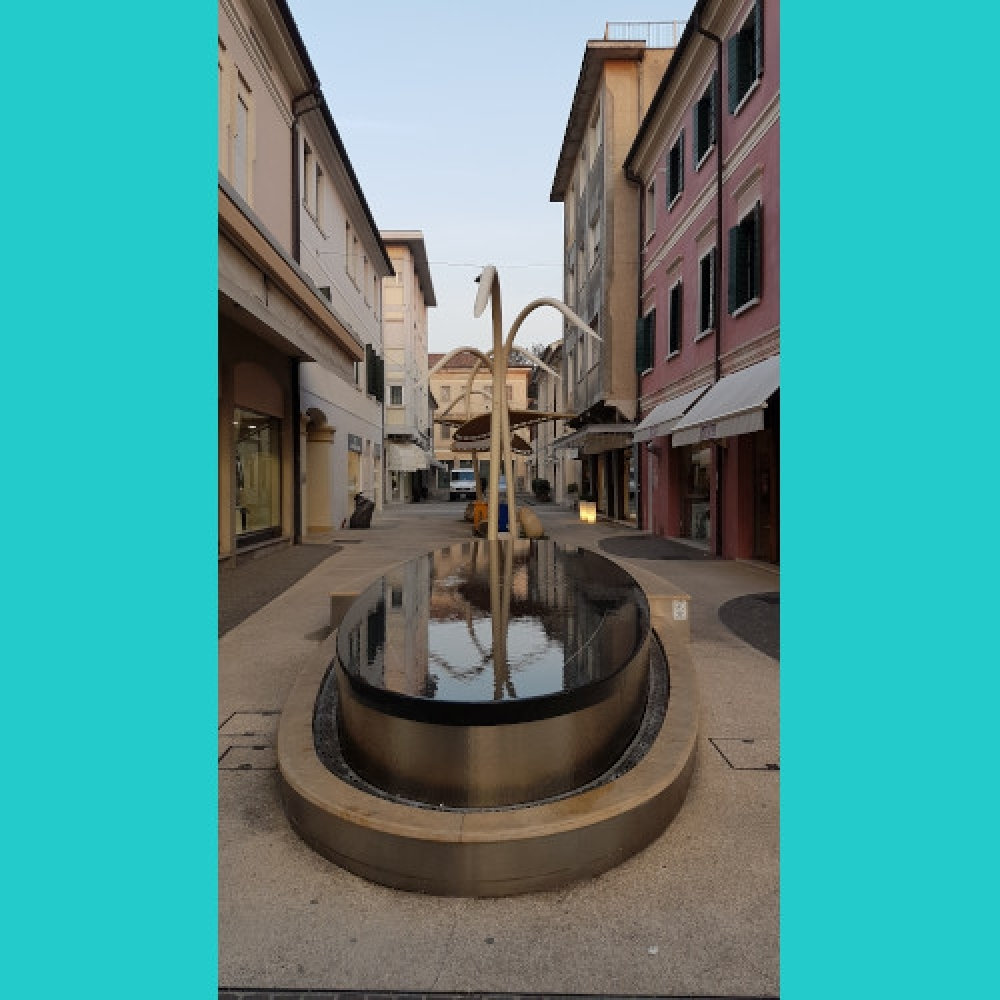 Montebelluna, Fontana Via A. Manzoni