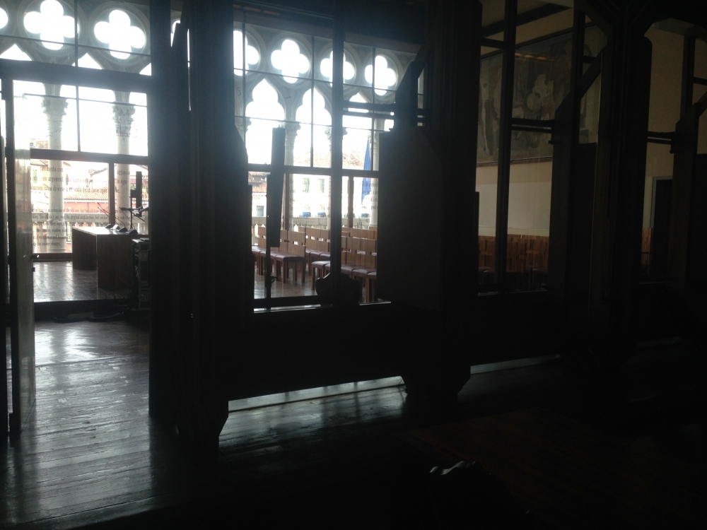 Internal soundscape Aula Baratto - Ca' Foscari