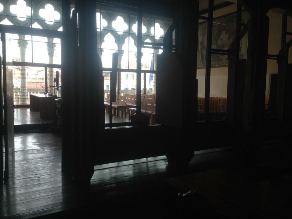 Internal soundscape Aula Baratto - Ca\' Foscari