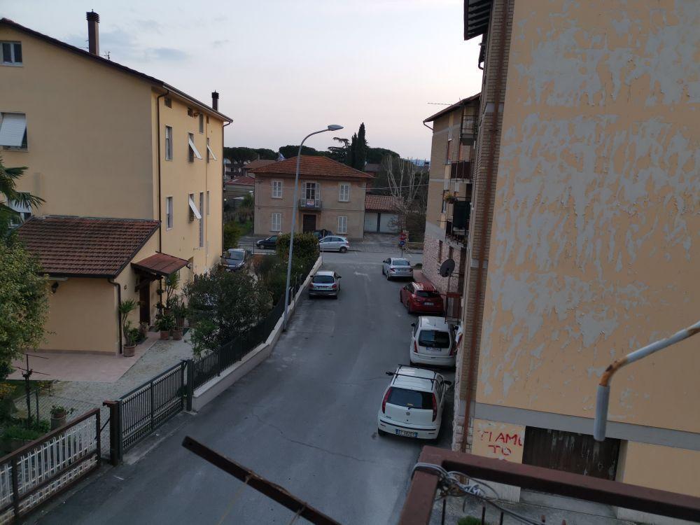 Soundscape from a secondary road towards the main road of Santa Maria degli Angeli