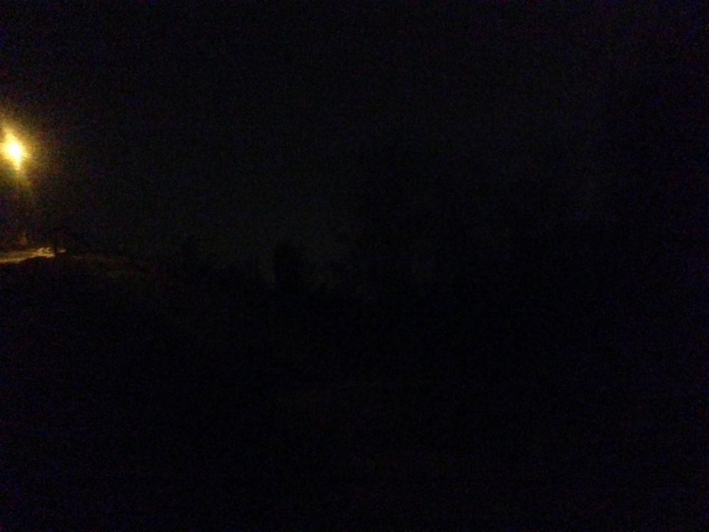 Nella valletta, tarda sera