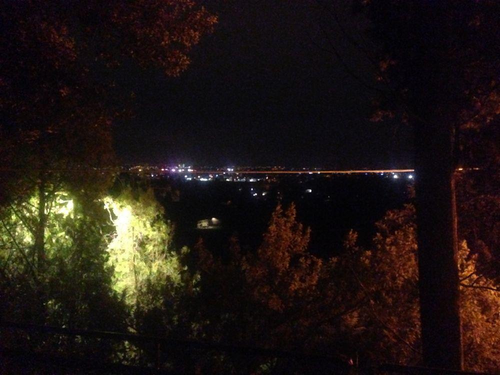 Notte al santuario Madonna dell\'acqua a Mussolente