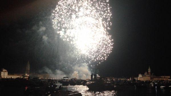 Fireworks at Redentore