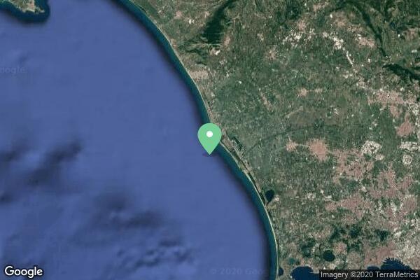 Napoli, Castelvolturno, sea atmosfere, on the Guardia di Finaza boat, engine sound and wave, mono