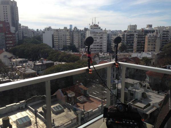 Sennheiser SPM-8000 TEST - Sunday morning in Montevideo
