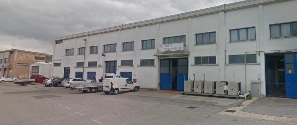 Zona industriale in quarantena