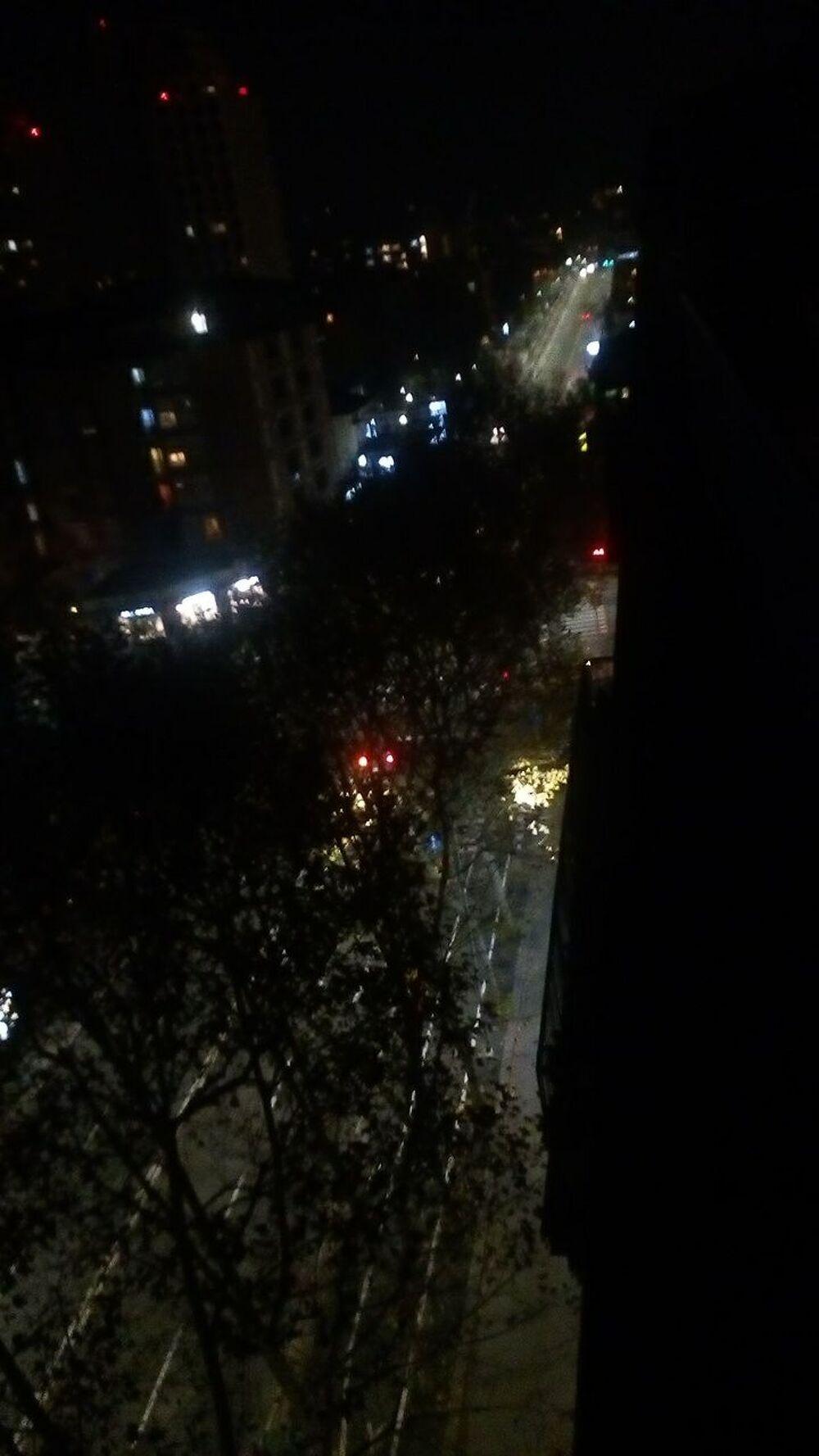 Via Stalingrado di notte